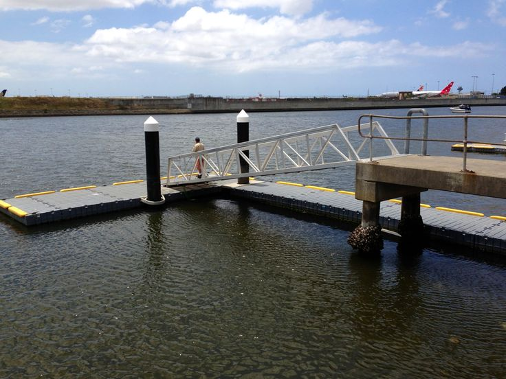 The Boat ramp in #Kyeemagh doubles up as a great place to fish. #fish #mcgrathstgeorge