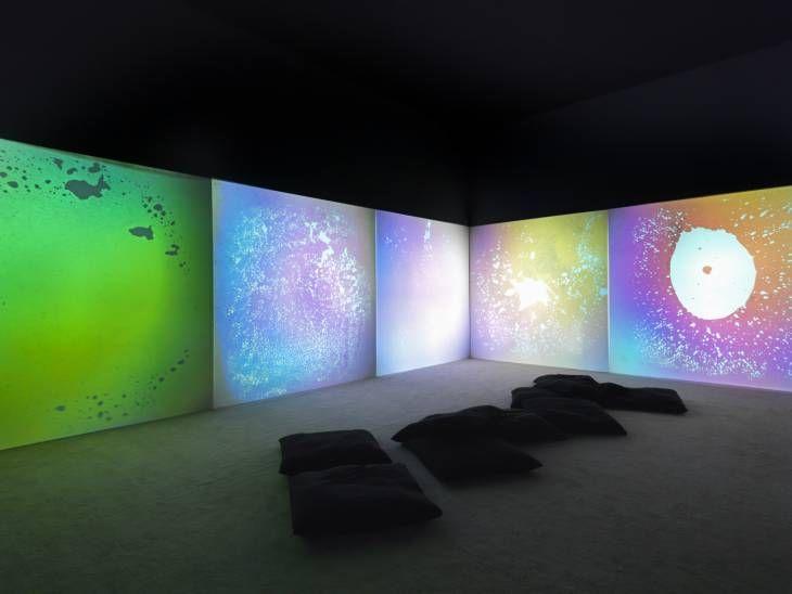 Gustav Metzger, 'Liquid Crystal Environment' 1965, remade 2005