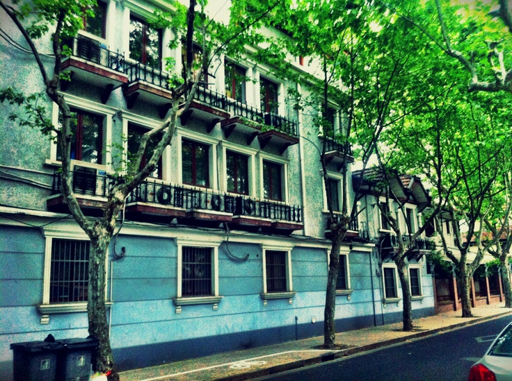 french concession shanghai style, also a good western location with lots of dinning and shopping spots. Lovely tree lined streets to walk along..