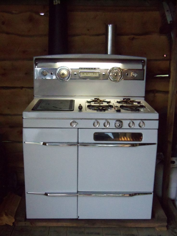 This Is A Belanger Wood Propane Combination Cook Stove I