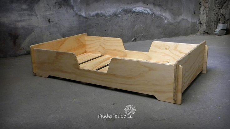 Maderística   Cama Montessori