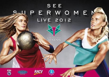 Melbourne Vixens Netball Club billboard