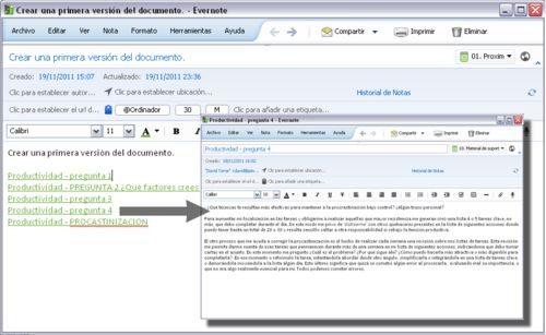 Evernote en español, Cómo utilizo Evernote para GTD | Evernote Corporation