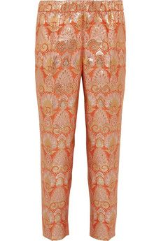 J.Crew Collection brocade tapered pants | THE OUTNET
