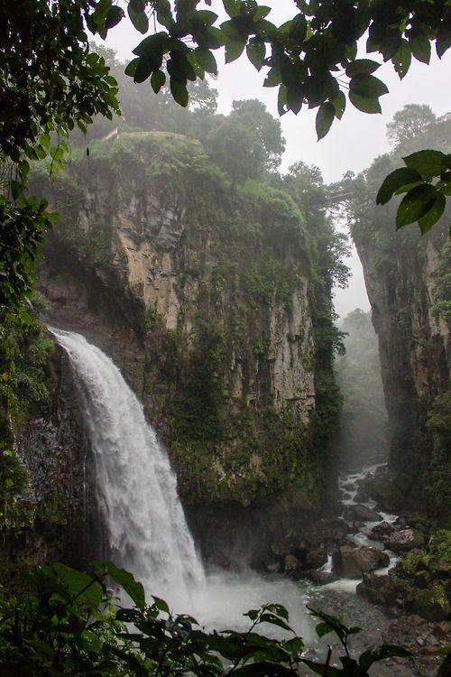 Cascada de Texolo  Xico, Veracruz