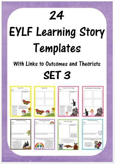 #EditorsPick This beautifully designed template pack will save you hours of time creating learning stories. There are spaces for the story, a learning analysis and photos and are even already linked to EYLF Outcomes and Theorists. As the templates are fully editable you can change the outcomes and theorists links to suit your needs. 48 pages for $12! http://designedbyteachers.com.au/marketplace/eylf-learning-story-templates-set-3/