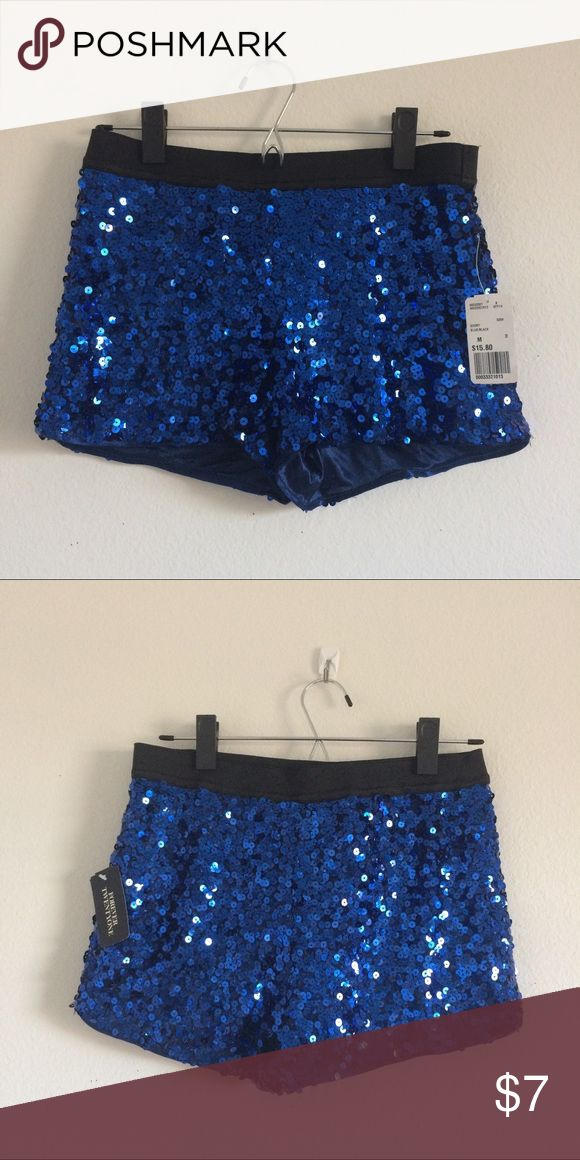 Forever 21 Sequin Shorts I purchased these a while back for a costume but never ended up wearing them--they'd be perfect for the upcoming festival season! Forever 21 Shorts