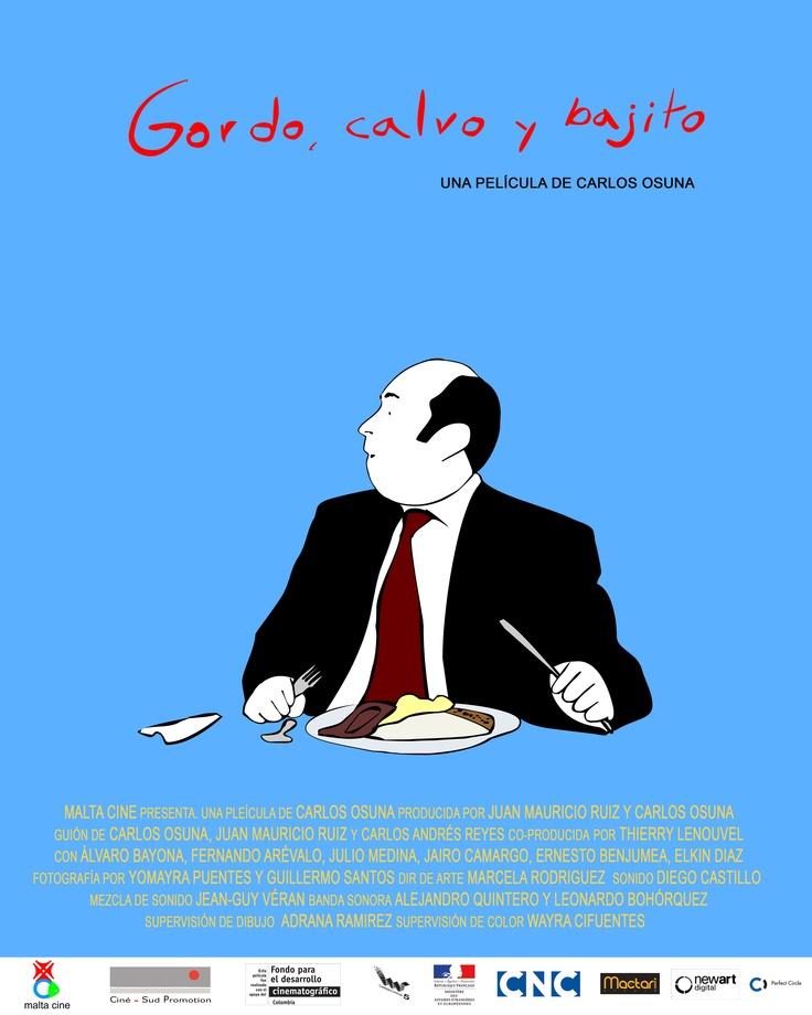 Gordo, calvo y bajito, una película que hace parte de la Semana del Cine Colombiano: http://www.mincultura.gov.co/semanadelcine/