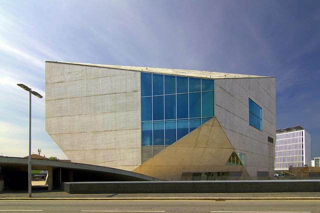 Casa da Musica- Rem Koolhaas.