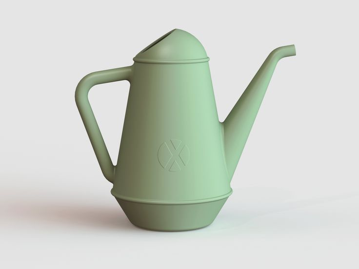 #BUTLER, a #XALA 6L watering can in pale green by Anthony Duffeleer