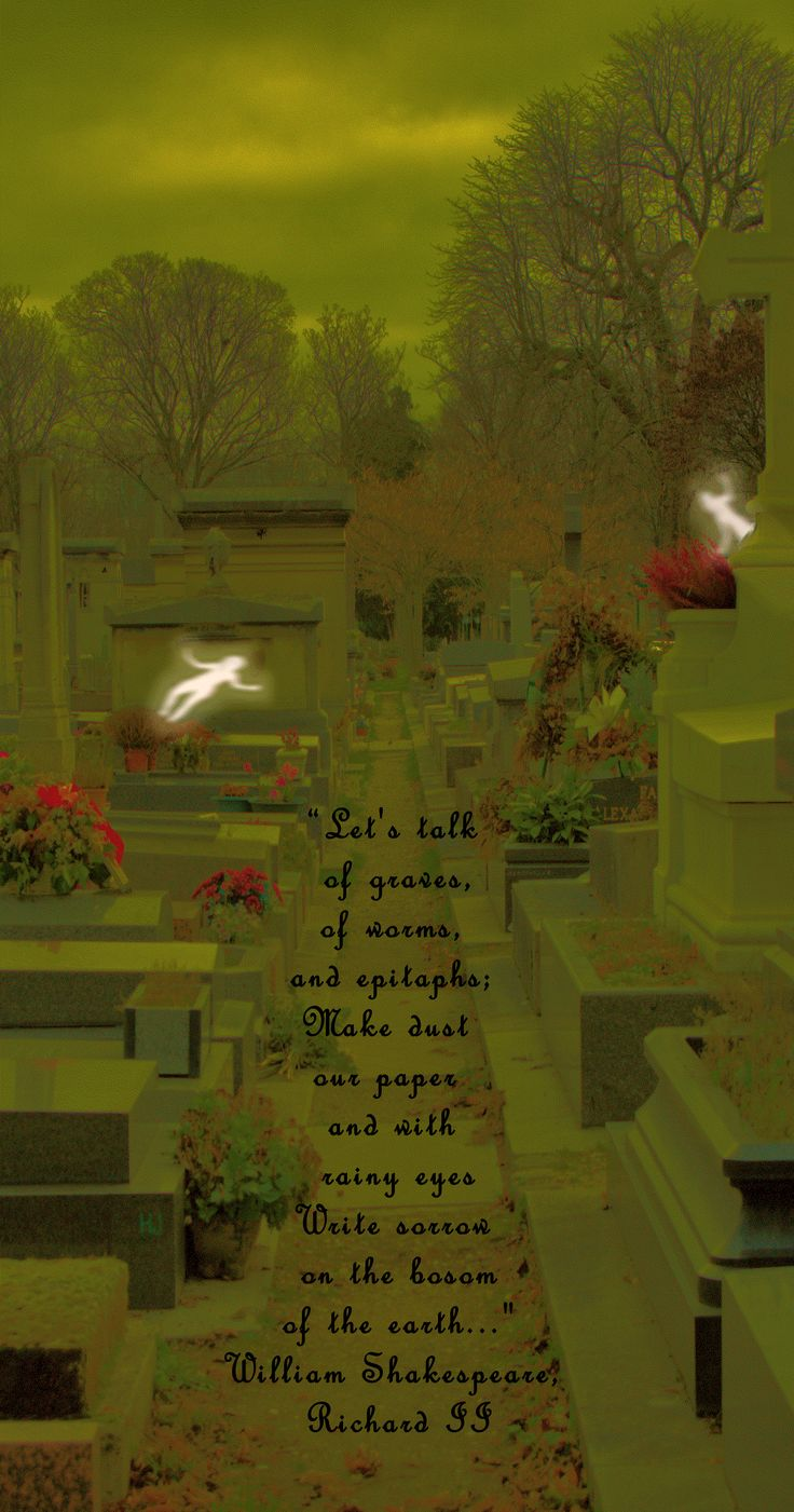 ... were we alone? Did my eyes not see all that the camera saw? And, and, and … so many questions now; like will I go back to Cimetière du Montparnasse? And, for one last and, it's not often I can bring together Paris travel and the astral world … so … Happy Halloween.