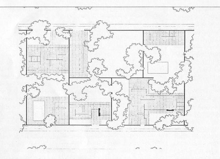 Mies Van Der Rohe | Estudio Sobre La Casa Patio (Patio Houses) | 1931 |  Mies Van Der Rohe | Pinterest | Architecture, Architecture Plan And Drawing  Models