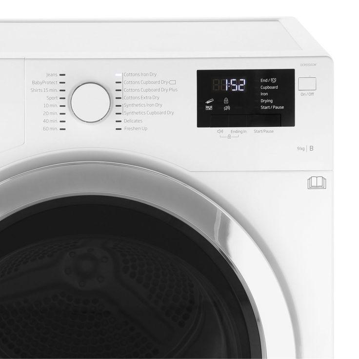 DCR93161W_WH | Beko Tumble Dryer | Condenser | ao.com