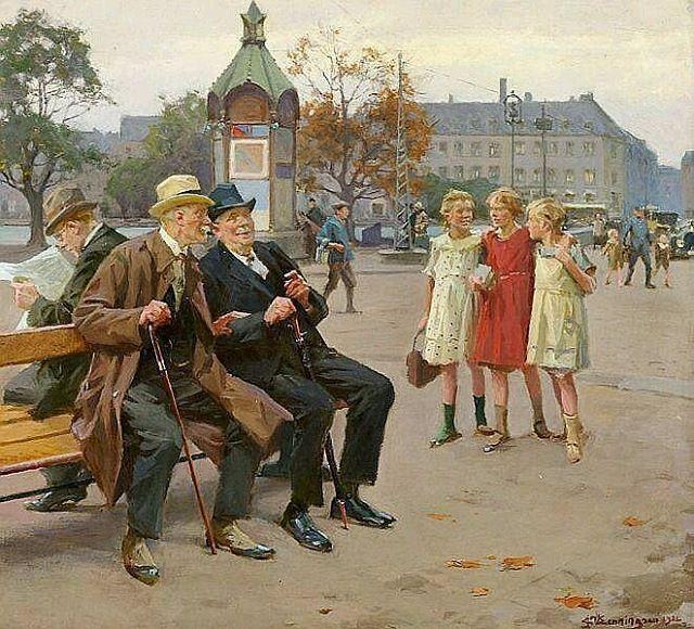Erik Ludvig Henningsen (29 August 1855 – 28 November 1930) was a Danish painter . .