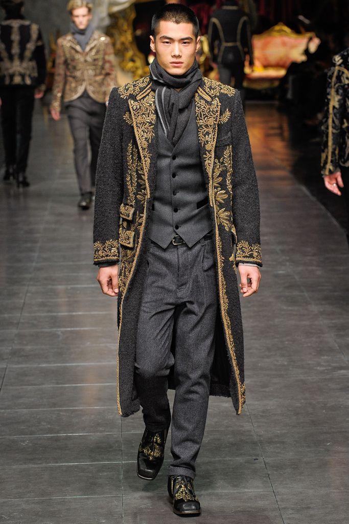 Dolce & Gabbana Fall 2012.