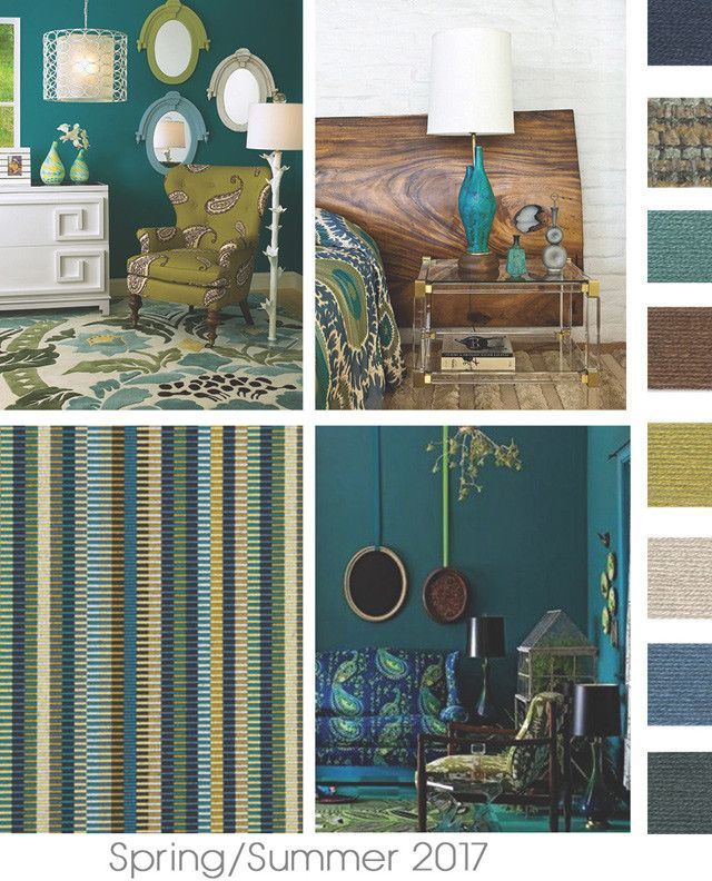 #DesignOptions SS17 Color Report On #WeConnectFashion, Home Interiors Mood  Details: Pattern Mix