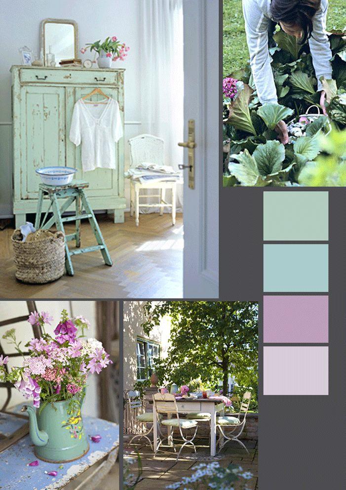 Frisgroen roze #color #kleurpalet