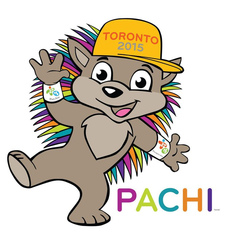Pachi the porcupine introduced as mascot for Toronto Pan Am Games