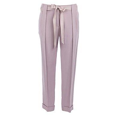Wedding Guest Wear: Oasis peg-leg trousers