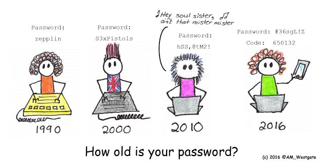 InfoSec for Everyday People: Cartoons by Ammo - How old is your password?