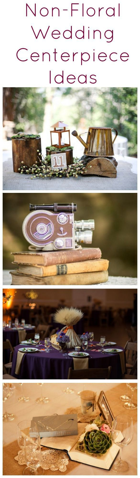 The Best Non Floral Wedding Centerpiece Ideas