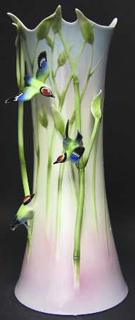 Franz Collection Bamboo & Songbird - Vase