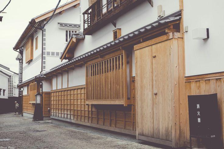 On the streets of Kurashiki, Japan