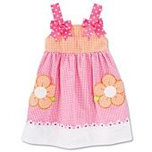 Bonnie Jean Little Girls' Seersucker Sundress
