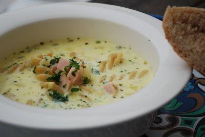 Dagens soppa är även den hämtad ur Smaker från Saltå kvarn. En italiensk ostsoppa med pasta och rökt skinka i. Väldigt enkel att tillaga, och riktigt god smak. Soppan blev lite väl salt tycker jag,…