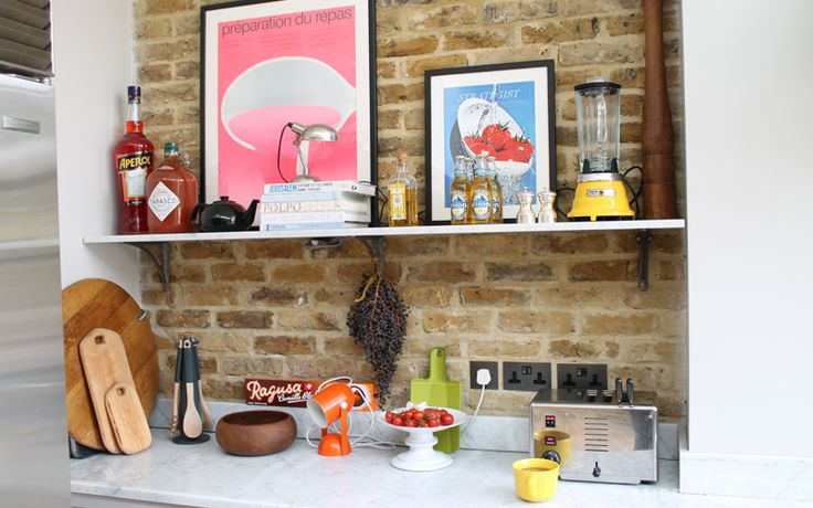 Amelia Joseph   Love this collection of kitchen paraphenalia on displan