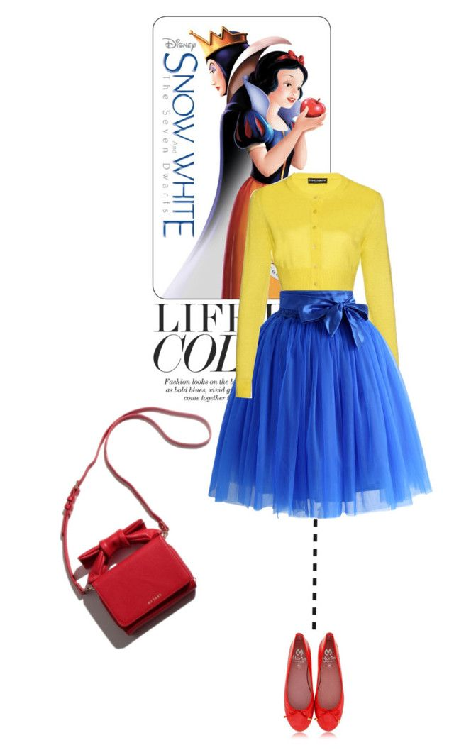 life is color: SnowWhite selection by nicole77af on Polyvore featuring Dolce&Gabbana, Chicwish, women's clothing, women's fashion, women, female, woman, misses and juniors