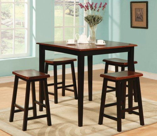 found it at wayfair allegany 5 piece counter height dining set