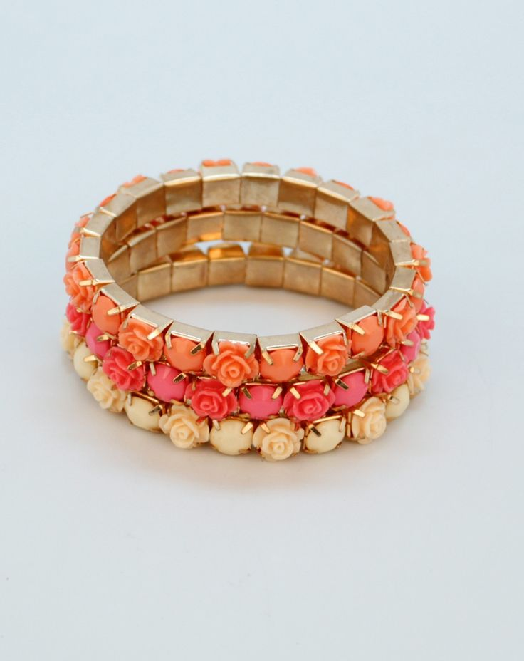Flower Chain Bracelets