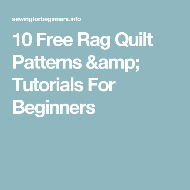 1000+ ideas about Rag Quilt Patterns on Pinterest Rag quilt, Baby rag quilts and Quilts