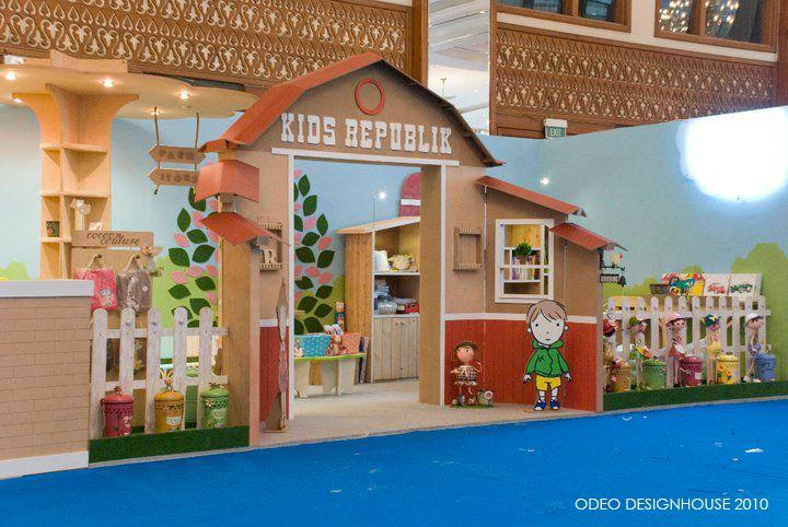 Kids Exhibition Booth : Kids republik booth design location jakarta