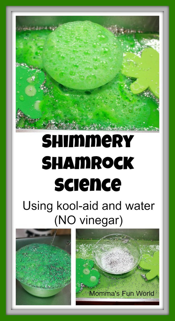 Shamrock science for kids