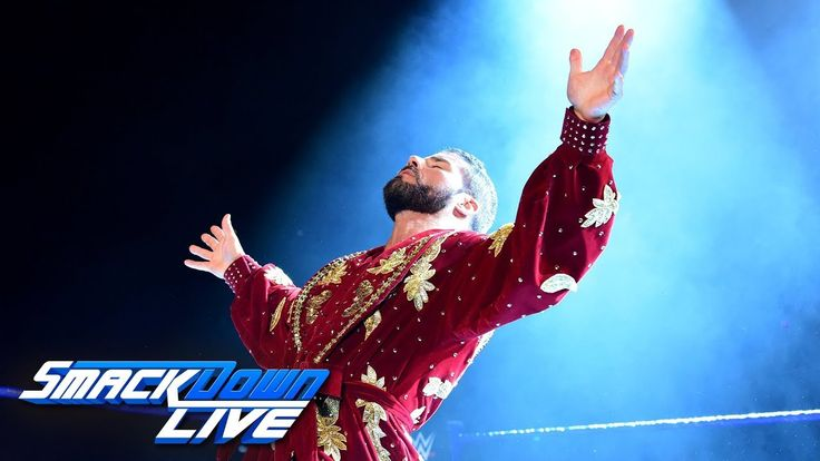 Bobby Roode vs. Aiden English: SmackDown LIVE, Aug. 22, 2017 - YouTube
