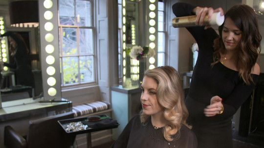 From desk to disco - the perfect party hairstyle