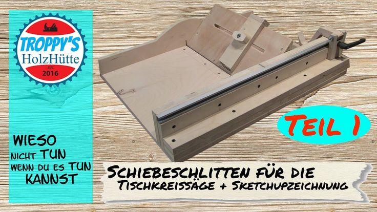 cross cut sled schiebeschlitten f r die tischkreiss ge. Black Bedroom Furniture Sets. Home Design Ideas