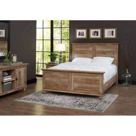 Better Homes And Gardens Crossmill Queen Bed Weathered