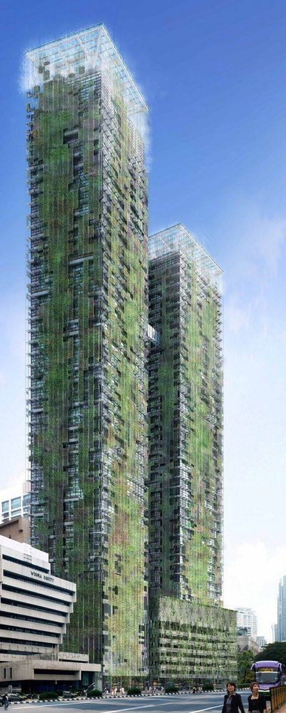 Le Nouvel Tower, Kuala Lumpur, Malaysia by Ateliers Jean Nouvel :: 49 floors