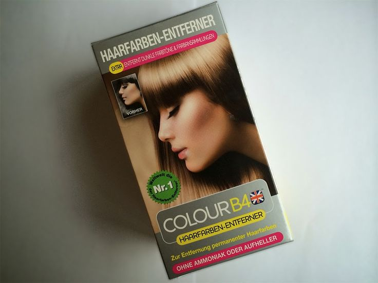 Colour B4 - Haarfarben-Entferner  REVIEW