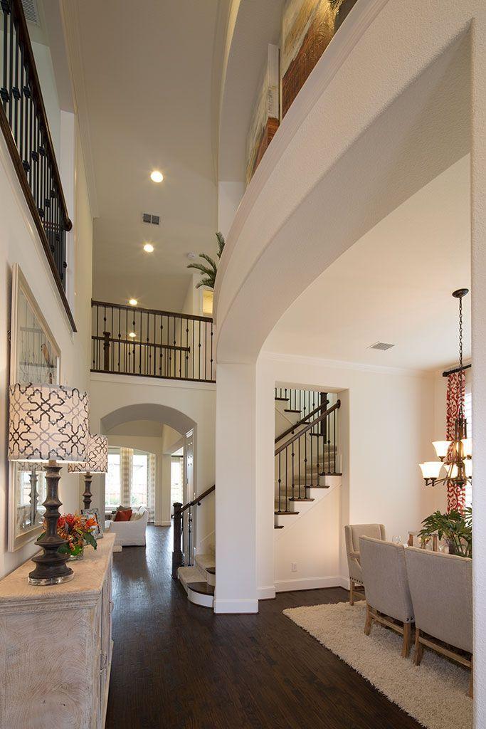 White Interior Highland Homes Wynn Ridge Estates Entryway