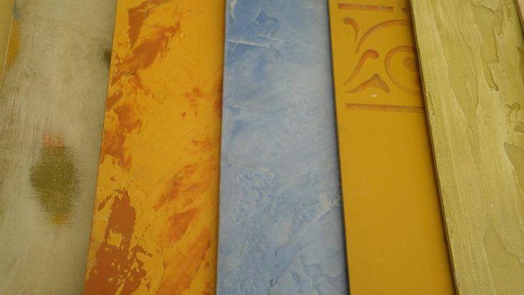 Pintura decorativa, Muros y  Decoración: Datos útiles para  tratamiento de  muros... una pa...