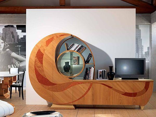 Buffet en bois avec portes CHIOCCIOLA by Carpanelli