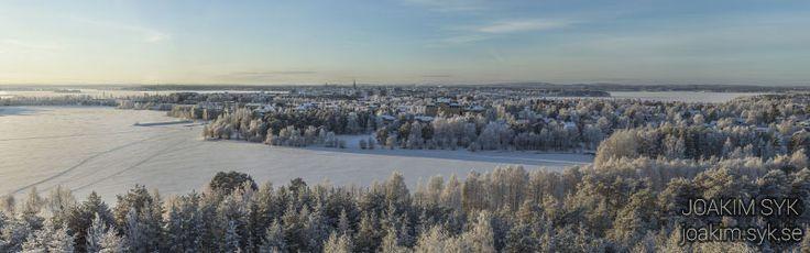 Utsikt från #Lulsundsberget  i Luleå