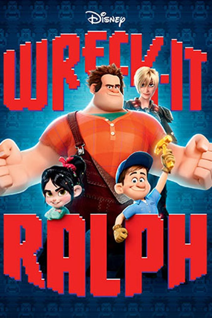 Movie Posters: Wreck-It Ralph