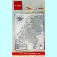 Marianne Design Map of Holland clear stempel