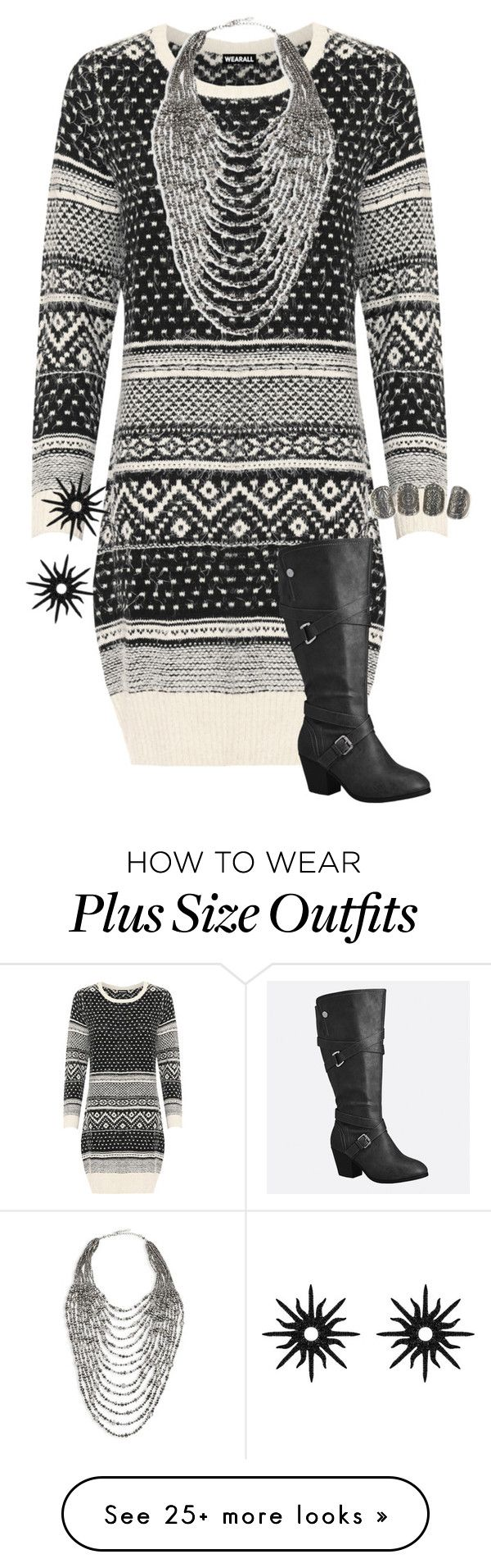 """""""Untitled #1895"""" by mermaids533 on Polyvore featuring WearAll, Marina Rinaldi, Avenue and Christina Debs"""