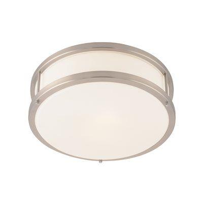 Access Lighting 50079LED-B 1 Light Conga LED Flush Mount Ceiling Light